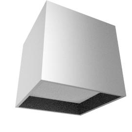 Absinthe Case SQ, Aluminum / White