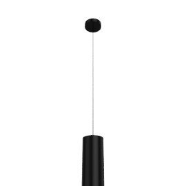 Tube 30 Pendant - Black