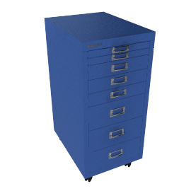 Bisley Non-Locking Under Desk Mutidrawer
