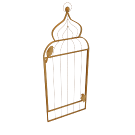 Bird Cage Wall Decor