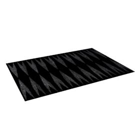 Glitter Rug - 160x230 cms, Black