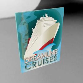 Dreamline Cruise, 60x80cm, by Marten Rijnen