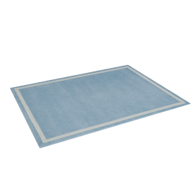 Parker Tufted Rug - 120x160 cms, Blue