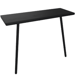 Georg Console Table, black