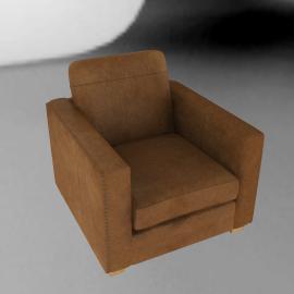 John Lewis Hudson Leather Armchair