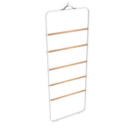 Norm Towel Ladder, White
