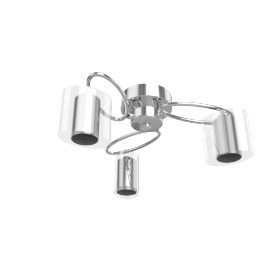 Zola 3 Light Ceiling Fitting