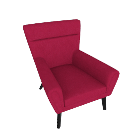 Offbeat Accent Chair