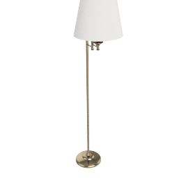 John Lewis Dominic Floor Lamp Nickel