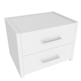 Moderno 2-Drawer Nightstand