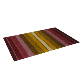 Dhalia Stripe Rug, 180x120, Purple
