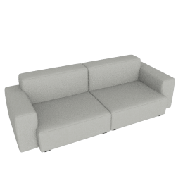 Mags Soft Low 2.5 - Seater Sofa, Linara - Fog