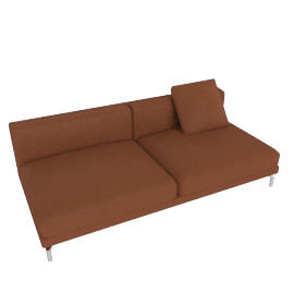 Como Armless Sofa, Canyon