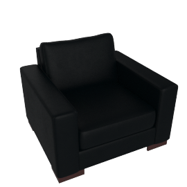Signature Armchair, Midnight