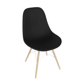 Eames® Molded Plastic Dowel Leg Side Chair - DSW