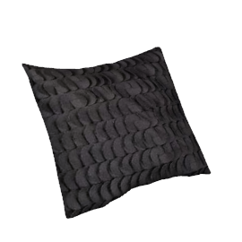 Cameia Cushion, Black