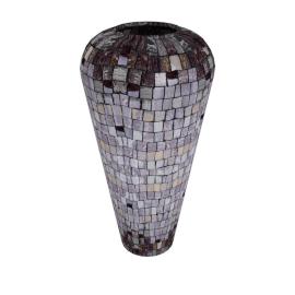 Rosa Mosaic Vase - 20.5x20.5x40 cms