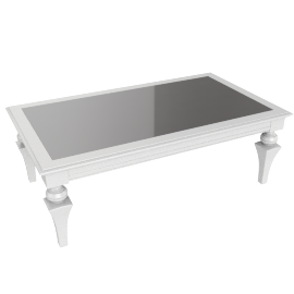 Taj Coffee Table - White