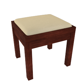 Kerala Dressing Table Stool