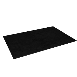 Indulgence Reversible Bath Mat - 60x90 cms, Black