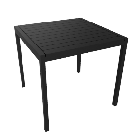 Eos Square Table - Black