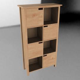 John Lewis Wimbledon Tall Bookcase