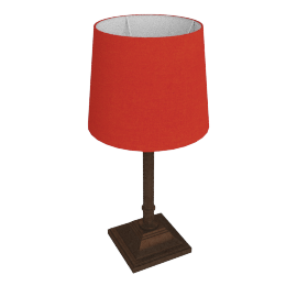 Dave Table Lamp, Red