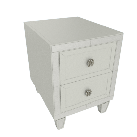 Mono Suzani 2-Drawer Night Stand