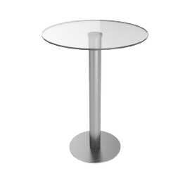 Loren Glass Bar Table