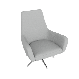 Metis 1 Seater - Grey