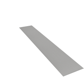 Elegante Table Runner - 33x180 cms, Grey