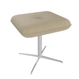 Ascari Footstool, Light Grey