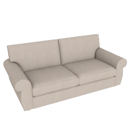 Madison Large Sofa, Bala Putty