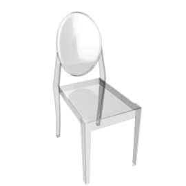 Victoria Ghost Side Chair