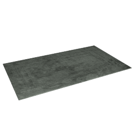 Indulgence Reversible Bath Mat - 70x120 cms, Green