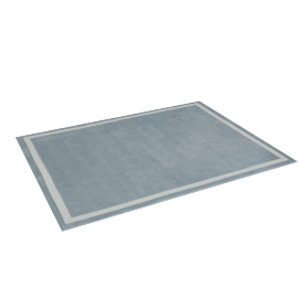 Parker Tufted Rug - 120x160 cms, Grey