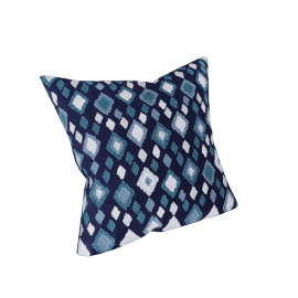 Ostia Embroidered Cushion Cover - 45x45 cms