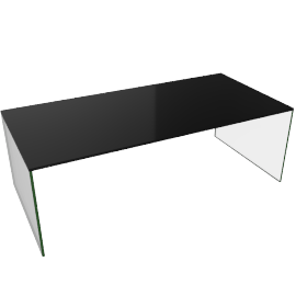Pool Coffee Table High - Black.New
