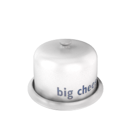 "Big Tomato Company ""Big Cheese"" Cheese Bell"