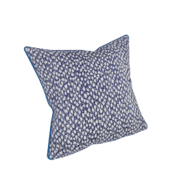 Chicago Jazz Filled Cushion - 45x45 cms, Blue