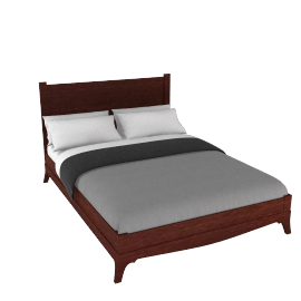 Georgian Bedstead, Kingsize