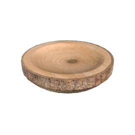 Natural Bark Platter