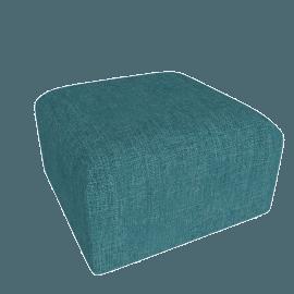 Juno modular - Ottoman, Mineral Blue