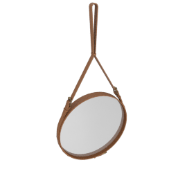 Adnet Mirror, Large - Brown