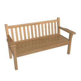 Barlow Tyrie London Teak Garden Bench