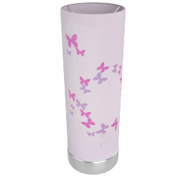 Butterfly Touch Lamp Pink-3Pin