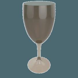 Acrylic Wine Glass, Peat
