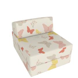 Butterflies Z Bed, Cream