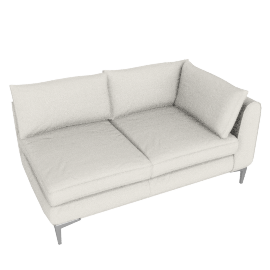 Albert One Arm Sofa Left - Vienna