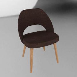 Saarinen Executive Side Chair - Wood Legs
